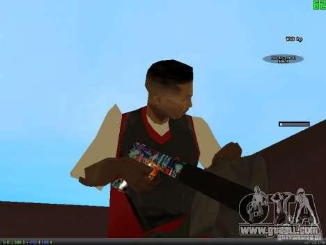 Graffiti Gun Pack for GTA San Andreas second screenshot