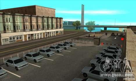 Renewal of driving schools in San Fierro V 2.0 F for GTA San Andreas