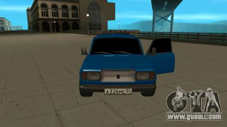 VAZ 2107 Ford for GTA San Andreas right view
