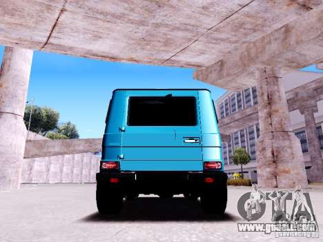 Mercedes-Benz G65 2012 for GTA San Andreas right view