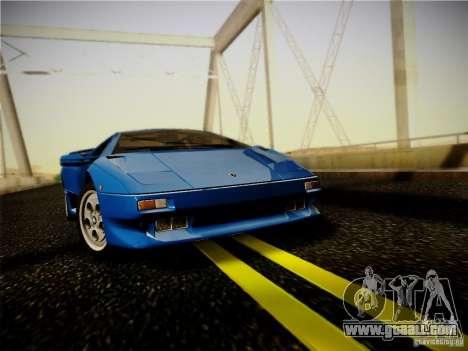 Lamborghini Diablo VT 1994 for GTA San Andreas