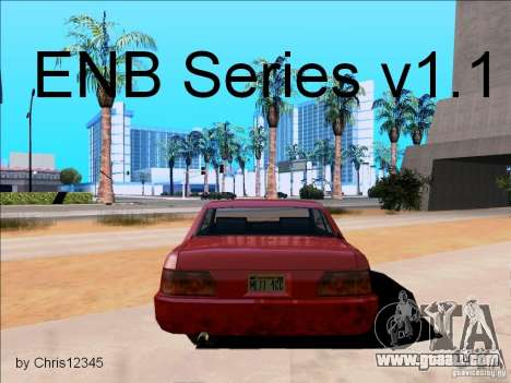 ENBSeries v1.1 for GTA San Andreas
