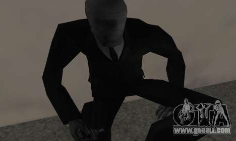 Slender Man for GTA San Andreas third screenshot