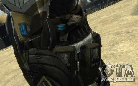 Crysis 3 The Hunter skin for GTA 4 eighth screenshot