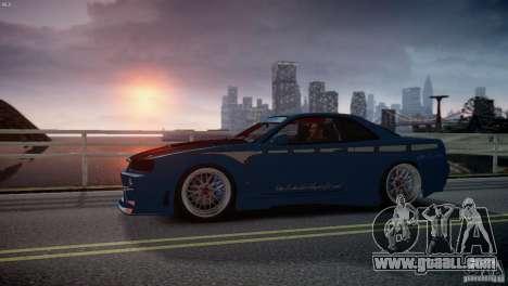Nissan BNR-34 GT-R for GTA 4 inner view