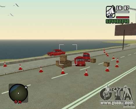 Gosport Road-Nižegorodsk for GTA San Andreas third screenshot