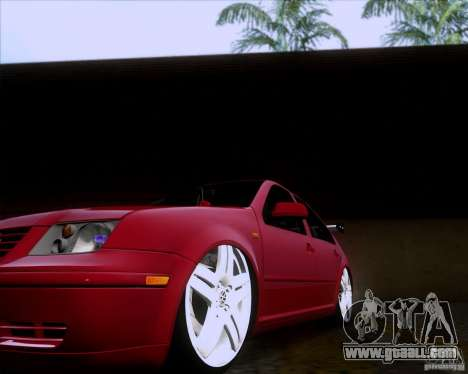 Volkswagen Jetta 2005 for GTA San Andreas inner view