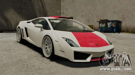 Lamborghini Gallardo Victory II 2010 HAMANN for GTA 4