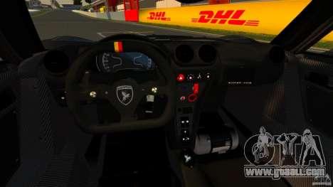 Gumpert Apollo Enraged 2012 for GTA 4 back view