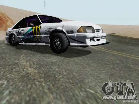 Ford Mustang Drift for GTA San Andreas left view