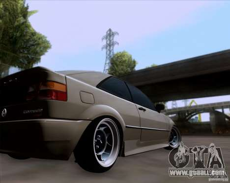 Volkswagen Corrado VR6 1995 for GTA San Andreas back view