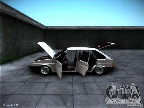 VAZ 2109 Rostov for GTA San Andreas interior