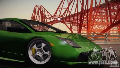 Lamborghini Murcielago 2002 v 1.0 for GTA San Andreas back view