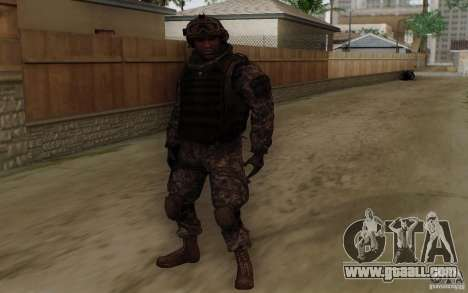Sergeant Foley from CoD: MW2 for GTA San Andreas