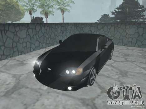 Hyundai Tiburon GT for GTA San Andreas