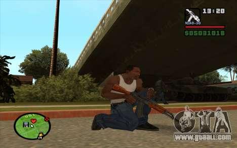 AKM for GTA San Andreas second screenshot