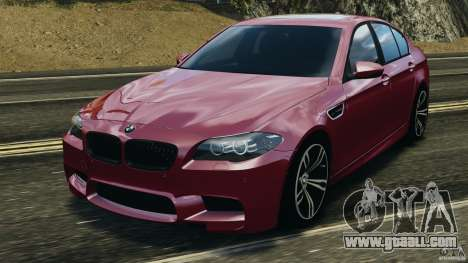 BMW M5 2012 for GTA 4