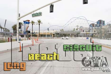 Long Beach Circuit [Beta] for GTA 4
