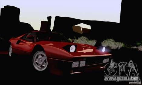 Ferrari 288 GTO 1984 for GTA San Andreas back view