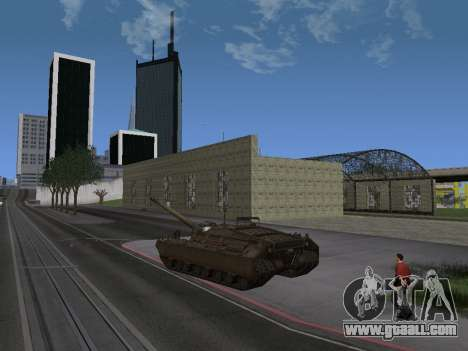 Pt-SAU T95 for GTA San Andreas back left view