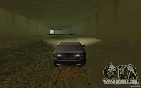 Honda Accord for GTA San Andreas inner view