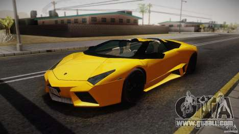Lamborghini Reventón Roadster 2009 for GTA San Andreas