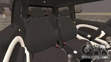 Mini Cooper S v1.3 for GTA 4 inner view