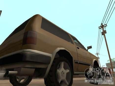 New Landstalker for GTA San Andreas back view