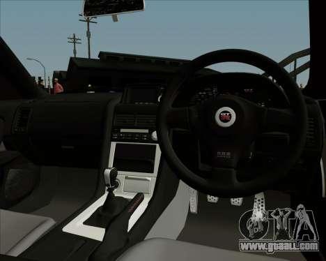Nissan Skyline GTR R34 for GTA San Andreas side view