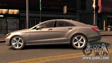 Mercedes-Benz DK CLS350 for GTA 4 left view