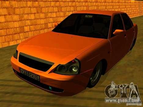 LADA 2170 Anzhi for GTA San Andreas