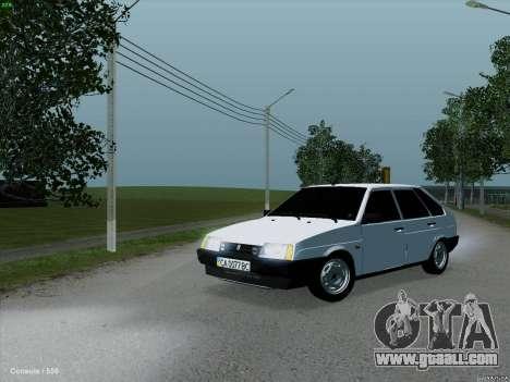 VAZ 2109 for GTA San Andreas