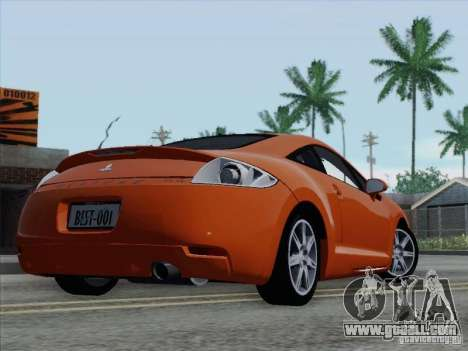Mitsubishi Eclipse GT V6 for GTA San Andreas wheels