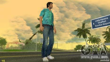Tommy HQ Model for GTA Vice City