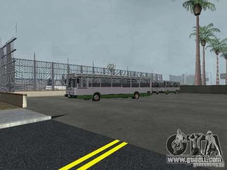 4-th bus v1.0 for GTA San Andreas fifth screenshot