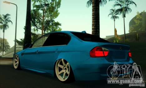 BMW M3 E90 for GTA San Andreas right view