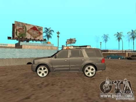 Lincoln Navigator 2004 for GTA San Andreas back view
