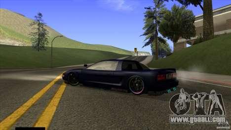Infernus v3 by ZveR for GTA San Andreas left view