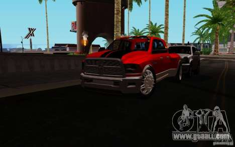Dodge Ram 3500 Tuning for GTA San Andreas left view