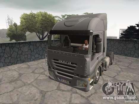 Iveco Stralis GTS for GTA San Andreas