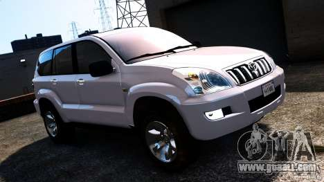 Toyota Land Cruiser Prado for GTA 4