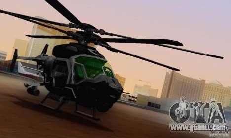 AH-2 Сrysis 50 C.E.L.L. Helicopter for GTA San Andreas inner view