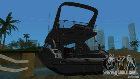 Boat for GTA Vice City right view