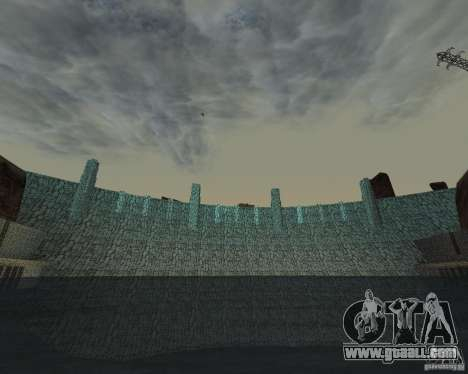 The new structure of the dam for GTA San Andreas forth screenshot