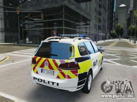 Volkswagen Passat B7 Variant 2012 for GTA 4 right view