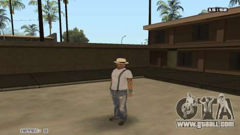 Build skins Rifa for GTA San Andreas second screenshot