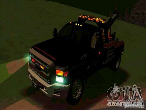 Ford F-550 2013 for GTA San Andreas