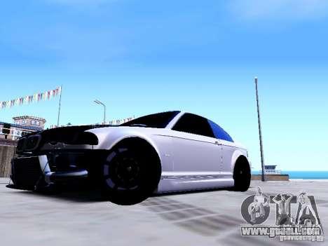 BMW 318i E46 Drift Style for GTA San Andreas