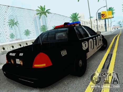Ford Crown Victoria Police Interceptor 2011 for GTA San Andreas right view