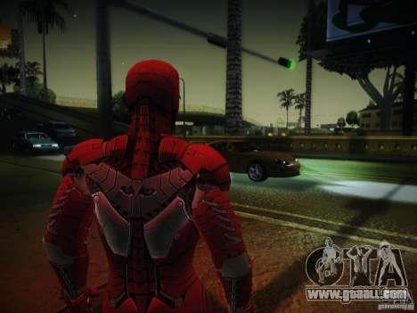 Iron Man 3 Mark V for GTA San Andreas second screenshot